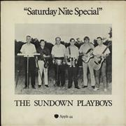 "The Sundown Playboys Saturday Nite Special - p/s - VG UK 7"" vinyl"