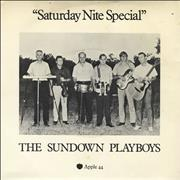 "The Sundown Playboys Saturday Nite Special - A Label - P/S UK 7"" vinyl Promo"