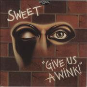 Click here for more info about 'The Sweet - Give Us A Wink'