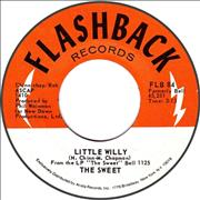 Click here for more info about 'The Sweet - Little Willy'