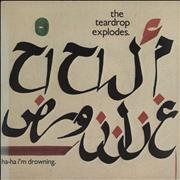Click here for more info about 'The Teardrop Explodes - Ha Ha I'm Drowning'