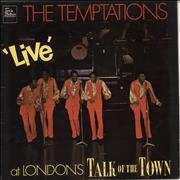 Click here for more info about 'The Temptations - Live At London's Talk Of The Town'