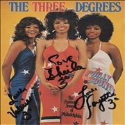Click here for more info about 'The Three Degrees - The Three Degrees - Autographed'