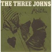 "The Three Johns A.W.O.L. UK 7"" vinyl"