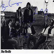 Click here for more info about 'The Thrills - Autographed Publicity Photograph'