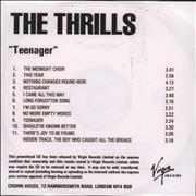 Click here for more info about 'The Thrills - Teenager'