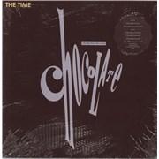 "The Time Chocolate - Shrink + Stickered USA 12"" vinyl Promo"
