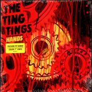 Click here for more info about 'The Ting Tings - Hands - Orange/White vinyl'