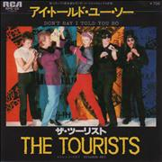 Click here for more info about 'The Tourists - Don't Say I Told You So'