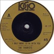 Click here for more info about 'The Tourists - I Only Want To Be With You - Inj'