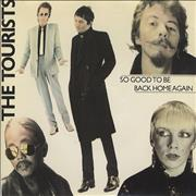 Click here for more info about 'The Tourists - So Good To Be Back Home - Yellow Injection Label'