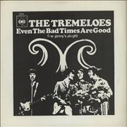 Click here for more info about 'The Tremeloes - Even The Bad Times Are Good - P/S'