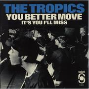Click here for more info about 'The Tropics - You Better Move - Red Vinyl'