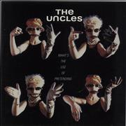 Click here for more info about 'The Uncles - What's The Use Of Pretending'