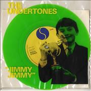 Click here for more info about 'The Undertones - Jimmy Jimmy - Green + Insert'