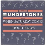 Click here for more info about 'The Undertones - When Saturday Comes'