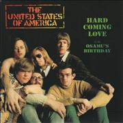 Click here for more info about 'The United States Of America - Hard Coming Love'