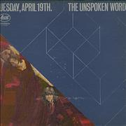 Click here for more info about 'The Unspoken Word - Tuesday, April 19th.'