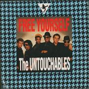 Click here for more info about 'The Untouchables - Free Yourself - Band photo sleeve'