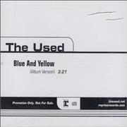 Click here for more info about 'The Used - Blue And Yellow'