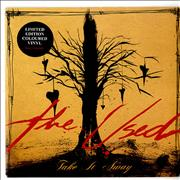 Click here for more info about 'The Used - Take It Away - Red Vinyl'