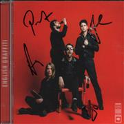 Click here for more info about 'The Vaccines - English Graffiti - Autographed'