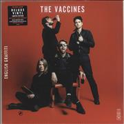 Click here for more info about 'The Vaccines - English Graffiti - Black / Red Vinyl + Low Numbered Sleeve'