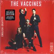 Click here for more info about 'The Vaccines - English Graffiti - Deluxe Edition - Sealed'