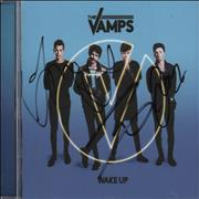 Click here for more info about 'The Vamps - Wake Up - Autographed'