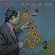 Click here for more info about 'The Vapors - New Clear Days - EX'