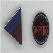 Click here for more info about 'The Vapors - Pair of Badges'