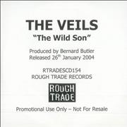 Click here for more info about 'The Veils - The Wild Son'