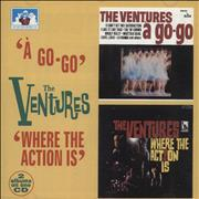 Click here for more info about 'The Ventures - A Go-Go / Where The Action Is'