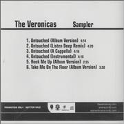 Click here for more info about 'The Veronicas - 'Hook Me Up' Sampler'