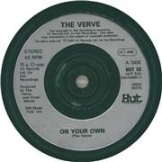 The Verve Gif, The Verve CD Covers The Verve Vinyl LP
