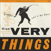 Click here for more info about 'The Very Things - Let's Go Out!'