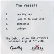 Click here for more info about 'The Vessels - The Vessels - Album Sampler'