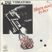 Click here for more info about 'The Vibrators - Blown Away By Love + Press Sheet - W.O.C.'
