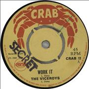 Click here for more info about 'The Viceroys - Work It'