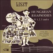 Click here for more info about 'The Vienna State Opera Orchestra - Hungarian Rhapsodies Nos. 1, 2, 3 And 6'