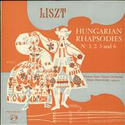 Click here for more info about 'The Vienna State Opera Orchestra - Liszt: Hungarian Rhapsodies Nos. 1, 2, 3 and 6 / Strauss: Czardas from