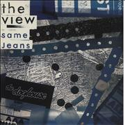Click here for more info about 'The View - Same Jeans - Blue Vinyl'