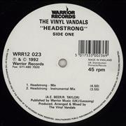 Click here for more info about 'The Vinyl Vandals - Headstrong'