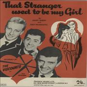 Click here for more info about 'The Viscounts - The Stranger Used To Be My Girl'