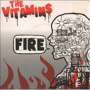 Click here for more info about 'The Vitamins - Fire'