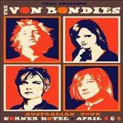 Click here for more info about 'The Von Bondies - Australian Tour Poster'