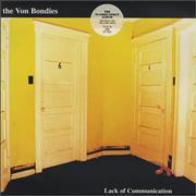 Click here for more info about 'The Von Bondies - Lack Of Communication - Yellow Vinyl'
