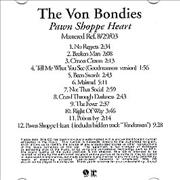 Click here for more info about 'The Von Bondies - Pawn Shoppe Heart'