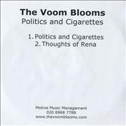 Click here for more info about 'The Voom Blooms - Politics And Cigarettes'