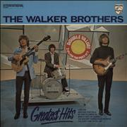 Click here for more info about 'The Walker Brothers - Greatest Hits - stickered p/s'